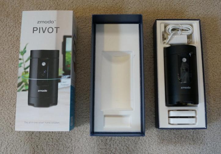 Zmodo-Pivot-unboxing