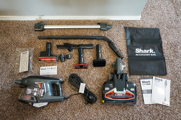 Shark-DuoClean-Ultralight-Vacuum-HV382-All-Accessories