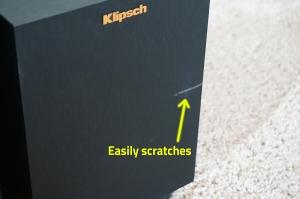 Klipsch-Reference-RSB-8-Soundbar-scratched