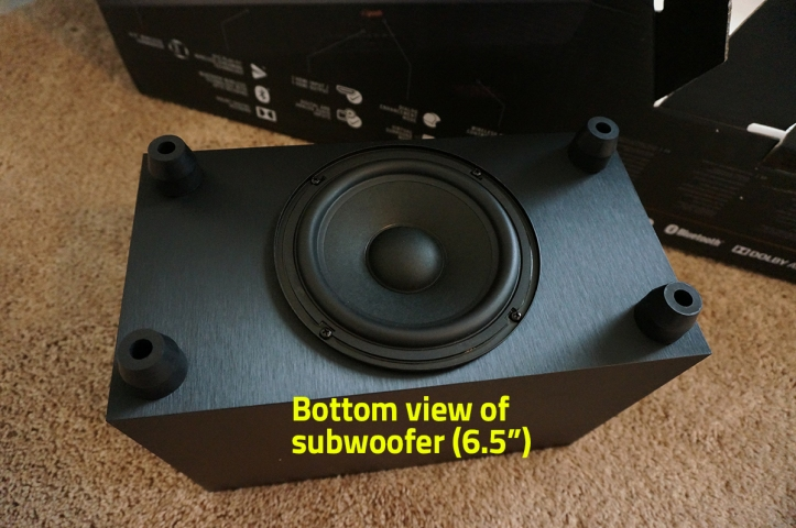 Klipsch-Reference-RSB-8-Soundbar-Woofer-Bottom-View